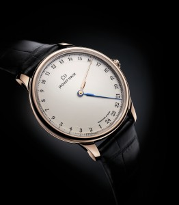 reloj monoaguja Grande Heure GMT de JAQUET DROZ 